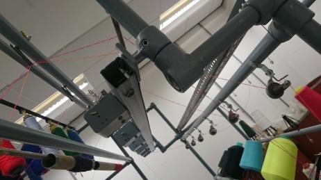 D&G Fancy yarn spinning machine threading back