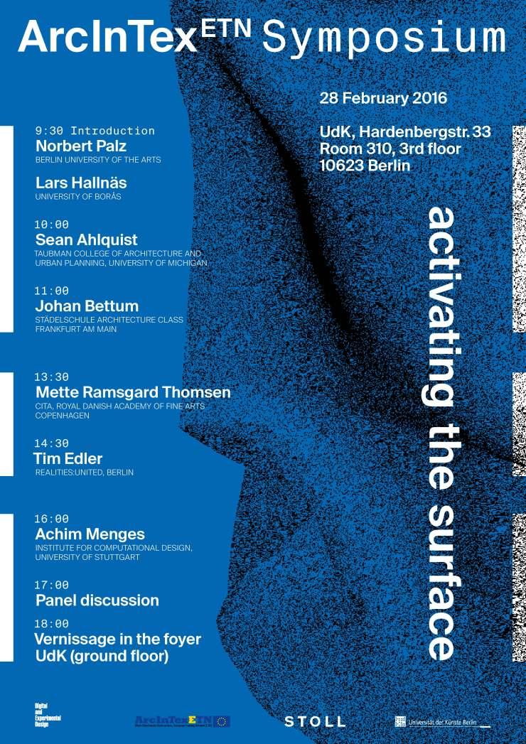 Arcintex-Plakat-Symposium