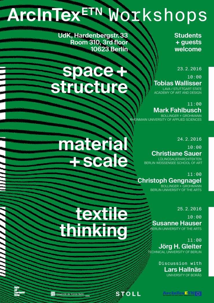 Arcintex-Plakat-Workshops
