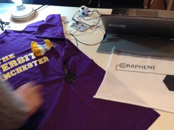 Graphene based textile printing inks