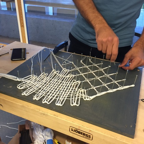 bobbin-lace pattern to be scaled up